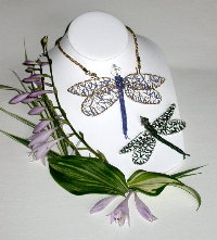Dragonfly Pin or Pendant