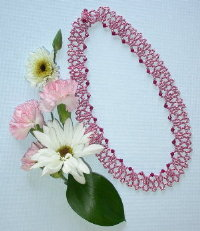 Crystals `n Lace Necklace