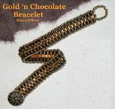 Gold n' Chocolate Bracelet