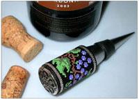 Peyote Stitch Wine Stopper