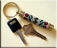 Peyote Tulip Keychain