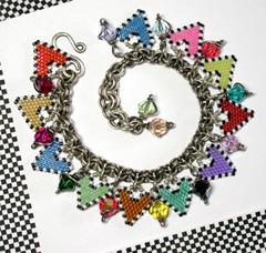 Hearts Le Rainbow Charm