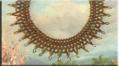 Tuscan Sun Net Necklace