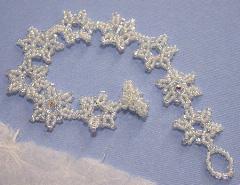 Snowflakes & Crystals Bracelet
