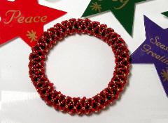 Stretch Net Bangle Bracelet