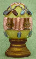 Bunny Egg Cover in Herringbone