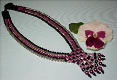 Cubed V Necklace