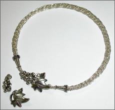 Kumihimo Wire Bracelet