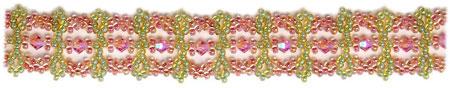 Keyhole Lace Bracelet