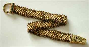 Golden Wave Bracelet