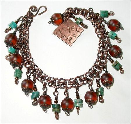 Hers & His Copper Links Bracelet