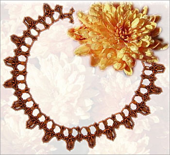 Chrysanthemum Petals Necklace