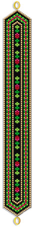 Christmas Ribbon Bracelet
