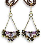 Beaded Earbobs