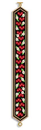 Dot Hearts and Flowers Bracelet