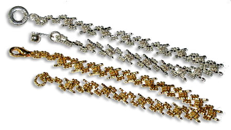 Wave Bead Chain Bracelet