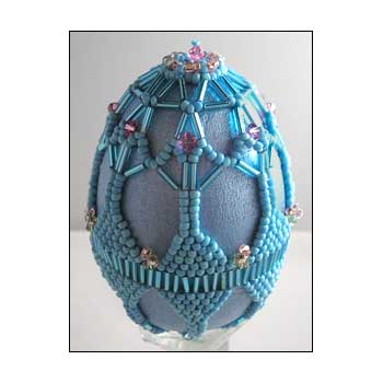 Springtime Beaded Egg