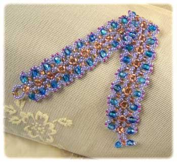Sparkle Blue Fire Bracelet