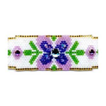 Spring Flowers, Two Ways Bracelet