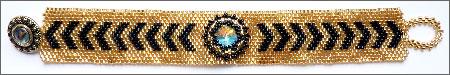 Chevron Rivolis Bracelet