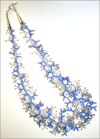 Frost Feathers Necklace