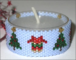 Christmas Tree Tea Light Cover