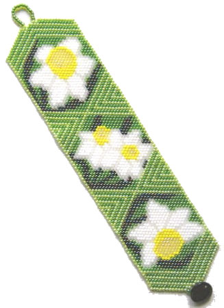 Springtime Daffodils Bracelet