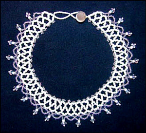 Chevron Chain Collar