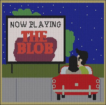 Now Playing 50''s Drive-in (Panel)