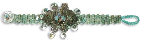 Brick & Bronze Bracelet