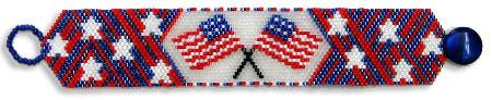 Happy 4th of July Bracelet