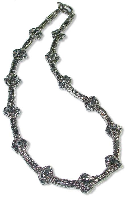 Silver Baubles Necklace
