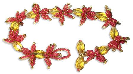 Japanese Maple Leaves Bracelet