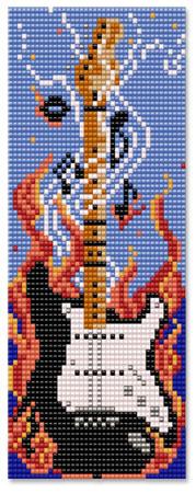 Smoke and Burn Guitar Panel