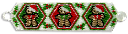 Bear-y Merry Xmas Bracelet
