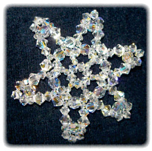 Snowflake #70 Ornament Pattern