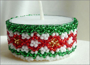 Holiday Candle Holder (Tea light)