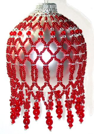 Crimson Glory Ornament Cover