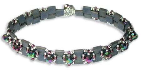 Tila Bead & Crystal Bracelet