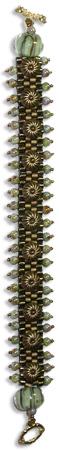 Bronze Stamping Bracelet