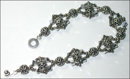 Silver Flash Bracelet