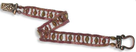 Copper Ladder Bracelet