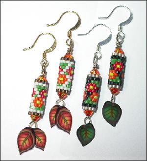 Blooms & Leaves Earrings