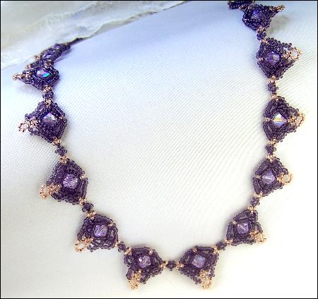 Regal Purple Necklace