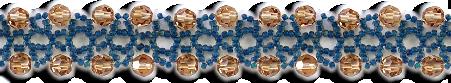 Blueberries & Sherry Bracelet