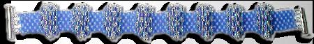 Blue Bumps Bracelet