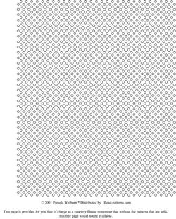 1 Bead Right Angle Weave Graph Paper Sova Enterprises