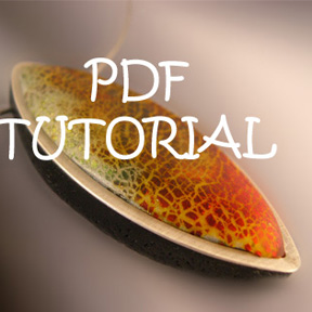 Tutorial how to make and frame a polymer clay pendant sova this tutorial shows you how to make a crackled focal bead pendant out of polymer clay and frame it in sterling silver this bead is very smooth and aloadofball Image collections