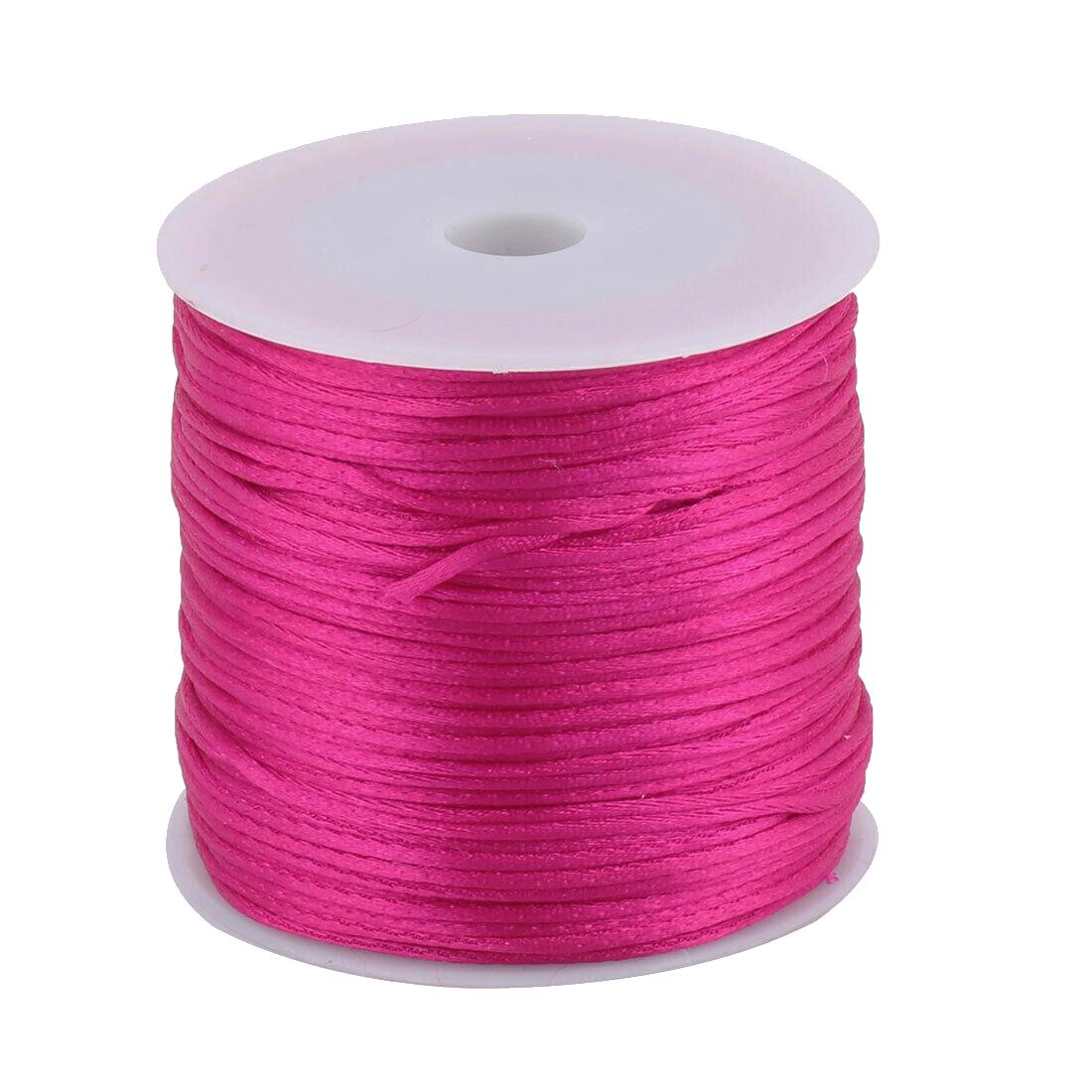 1 Mousetail 15mm Nylon Cord 76 Yards 70m Dusty Rose Sova