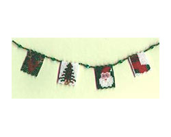 Beaded Christmas Garland